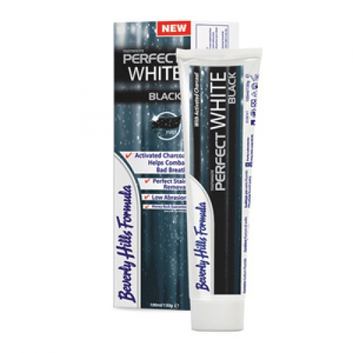 Beverly Hills Formula Perfect White Black зубная паста, 100 мл, Ирландия